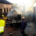 Durante la explosión de la pipa de gas, trabajadores de Protección Civil no contaban ni con gasolina para movilizarse. Foto: Archivo.