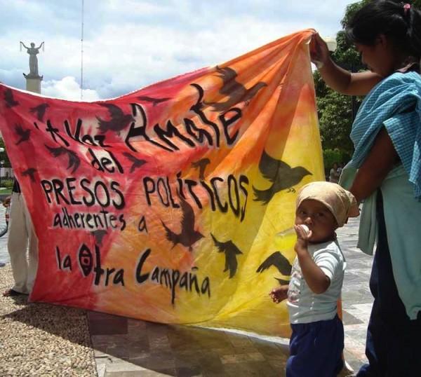 Miles de indígenas permanecen en prisión por o contar con recursos para su defensa. Foto: Red de Medios Libres