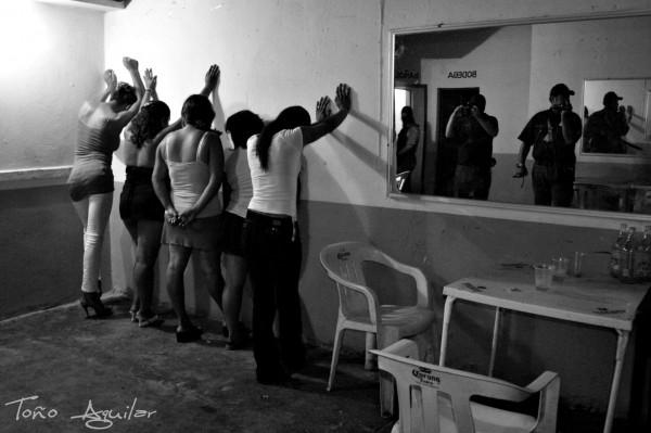 Operativo en Comitán. Foto: Toño Aguilar