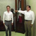 Bayardo Robles, secretario de Infraestructura. Foto: Icoso.