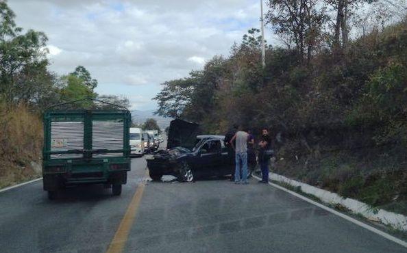 Bloqueo en carretera a Palenque. Foto: Fredy Martín Pérez