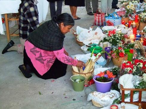Celebración en la sierra de Puebla. Foto: Radio Expresión