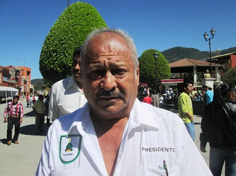 Presidente municipal de Jalpan, Puebla. Foto: Radio Expresión