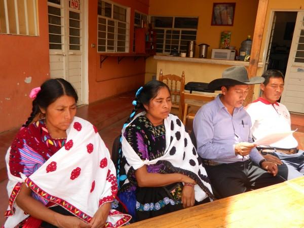 Desplazados del ejido Puebla, en Chenalhó. Foto: Amalia Avendaño