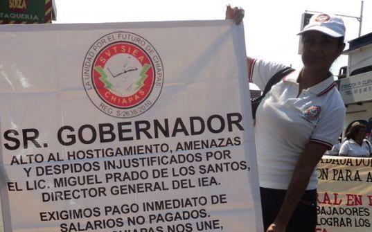 IEA denuncia por despidos injustificados. Foto: Archivo