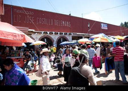 Mercado Lic Jose Castillo Tielemans. San Cristobal de las Casas. Foto: Fredy Martín Pérez