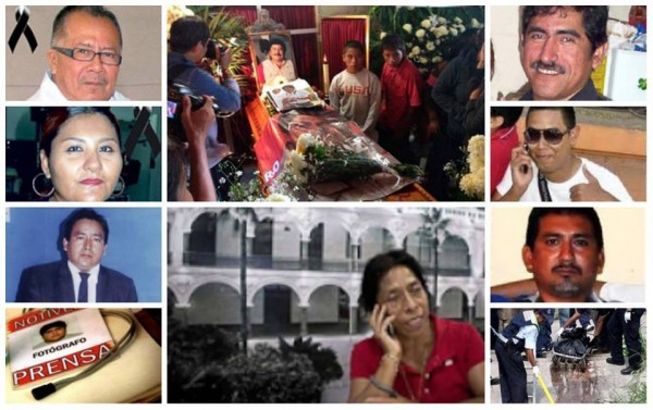 Periodistas asesinados en Veracruz