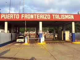 Puente fronterizo entre Chiapas y Guatemala. Foto: Gobierno municipal