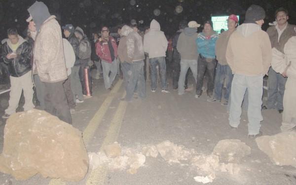 Antonio Díaz López fue detenido en el marco de la demanda de pobladores para exigir tarifas justas a la CFE. Foto: Amalia Avendaño