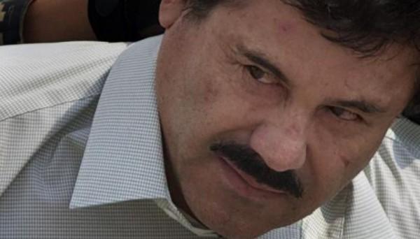El Chapo Guzmán horas después de su detención.