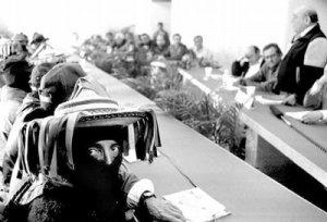 Aspecto de los Dialogos de San Andrés, 1996. Foto: Del blog de Koman Ilel