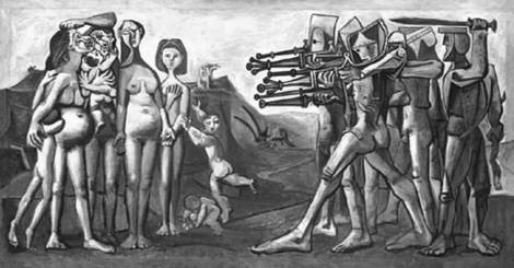 Masacre en Corea, P. Picasso, 1951.