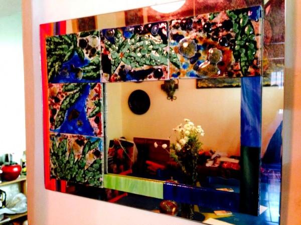 Obra del artista Rodolfo Disner expuesta en la Galería dedicada a su obra. Foto: Isaín Mandujano/Chiapas PARALELO