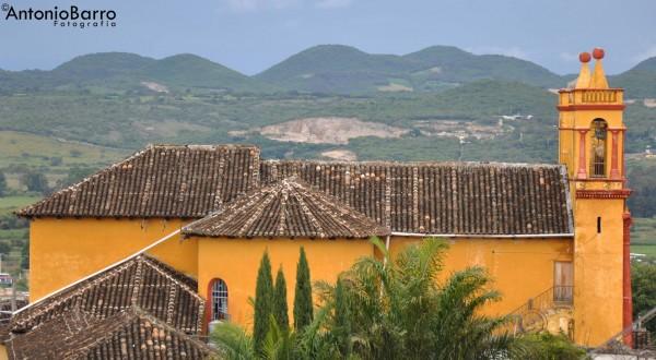 Iglesia de san Caralampio en el barrio de la Pila, Comitán de Domínguez. Foto: Antonio Barro