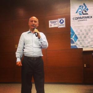 Federico Manuel Cuesy Ramírez, nuevo Presidente de COPARMEX Chiapas.