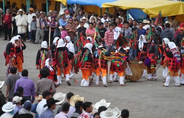 Carnaval en San Juan Chamula. Foto:; Miguel Abarca/ICOSO