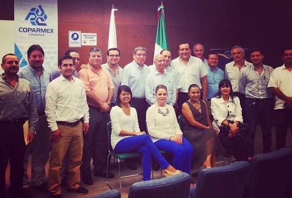 Federico Manuel Cuesy Ramírez obtuvo el 100 por ciento de los votos que emitieron los 57 empresarios presentes, 80 por ciento de los 73 afiliados con derecho a voto.