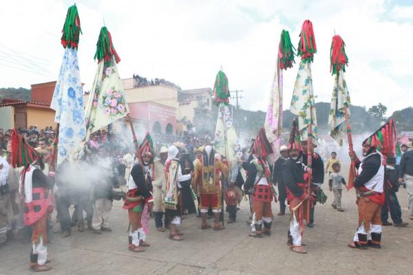 Carnaval en San Juan Chamula, Chiapas. Foto: Miguel Abarca/ICOSO