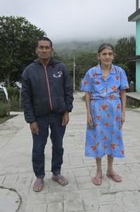 Familia campesina Zoque de Rayón, reubicadas en el predio Las Nubes y La Esperanza, en el ejido Nuevo Esquipulas Guayabal.