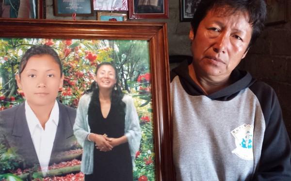 Amada Barranco, mamá de Araceli Vázquez Barranco. Foto: LadoB