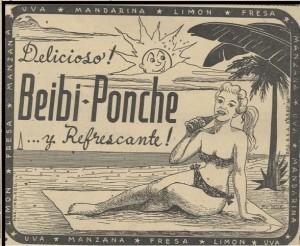Beibi Ponche, popular refresco tuxtleco de los cincuenta
