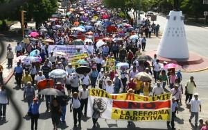 Hoy, demostración de fuerza de la CNTE