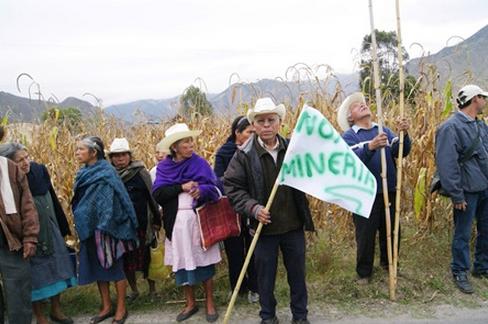 Con más de 90 concesiones mineras en la región, el número de conflictos por esta causa ha ido en aumento. Foto: Radio Expresión