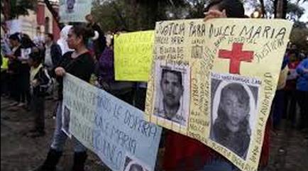 Dulce María Rodríguez Lara fue herida por un policía federal, quien se encuentra prófugo. Foto: Archivo
