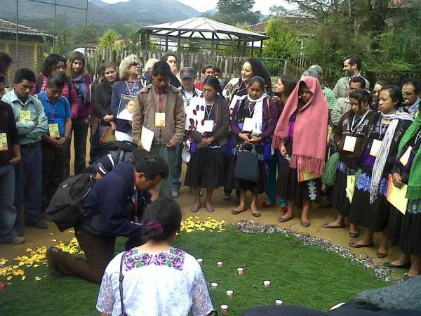Celebración de los 25 años Frayba. Foto: Ángeles Mariscal/ChiapasPARALELO
