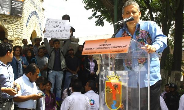 Para el 2012 era gobernado por Juan Sabines Guerrero, donde 4,845.8 millones de pesos registraron irregularidades, dijo la ASF