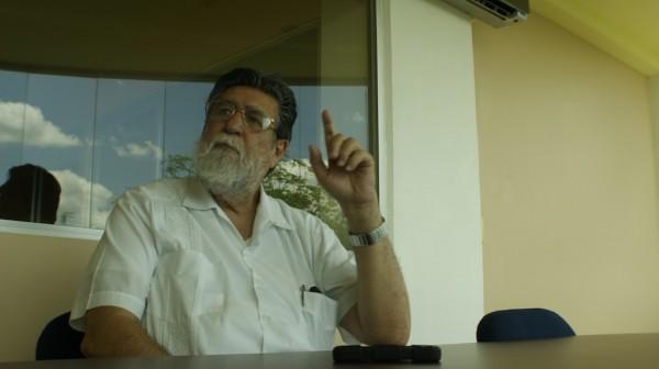 Andrés Fábregas es un referente en la antropología y en la gestión de instituciones educativas. Fotografía: Laura Fernández