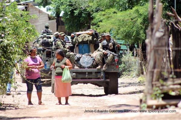Desplazados por la violencia en el país. Foto. Jesús Eduardo Guerrero Ramírez