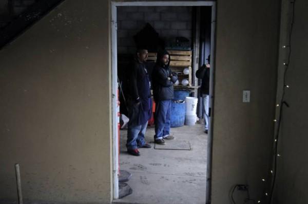 """En mayo de 2013, personas originarias de Siria fueron detenidas por el INM como medida de """"prevención"""", durante la visita del presidente de EU a México. Foto Archivo"""