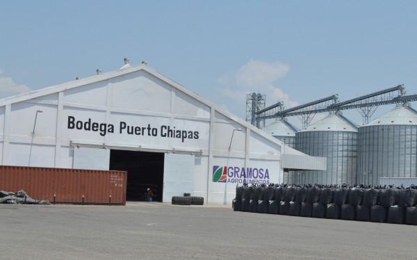 Empresarios mineros esperan exporta por Puerto Chiapas. Foto: Cesar Rodríguez