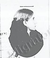 Isabel Soria, foto de su pasaporte.
