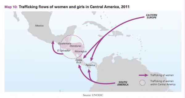 Los flujos migratorios de Centroamérica pasan en su mayoría por Chiapas, donde la industria de la trata de personas, encuentra a sus víctimas.