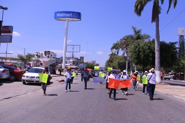 Foto: Marcha de mujeres en el 08 de marzo. Foto: Francisco López.