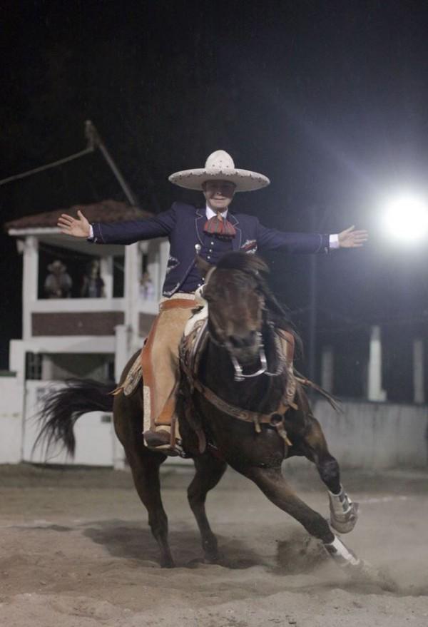 Manuel Velasco en la Feria Internacional de Tapachula. Foto: Icoso