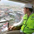 Manuel Velasco durante el simulacro del 20 de marzo. Foto: Icoso