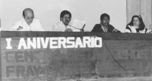 Primer aniversario del Frayba. Foto: Archivo Frayba