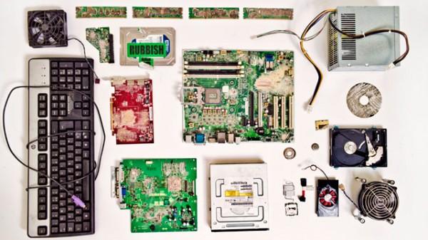 Computadora perteneciente a Edward Snowden y que entregó al periódico The Guardian para dar a conocer la información secreta que en ella contenía. Destruida por orden de un Juez de Estados Unidos. Fuente The Guardian