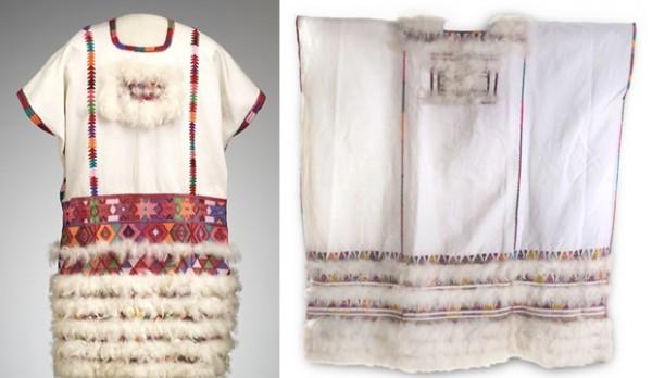 Vestido de novia de Zinacantán