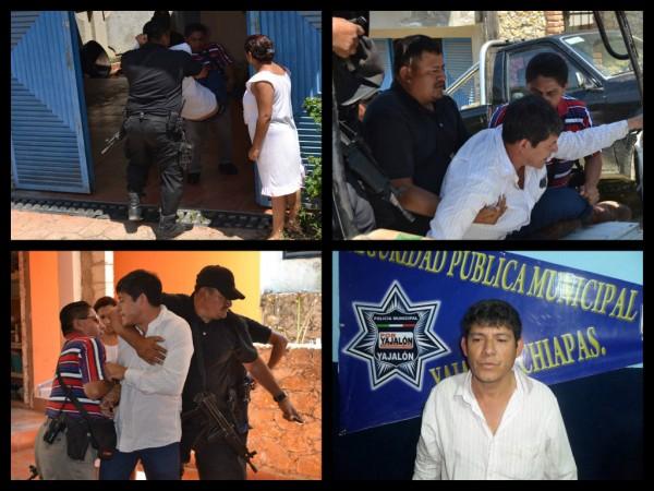 Detienen a exalcalde de Tila, por golpear a su esposa en el Día Internacional de la Mujer. Fotos: Mario Gómez