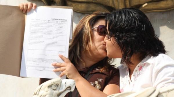 Matrimonio homosexual. Foto: cnnmexico.com
