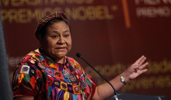 Rigoberta Menchú. Foto: Archivo/redpolitica.mx