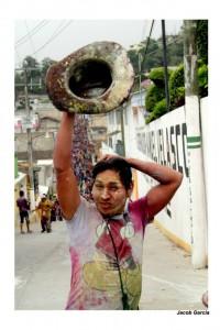 Carnaval zoque de San Fernando. Foto: Jacob García