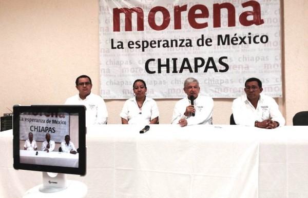 El domingo AMLO concluyó gira de trabajo en Chiapas, que empezó el jueves. Foto: Isaín Mandujano/Chiapas PARALELO