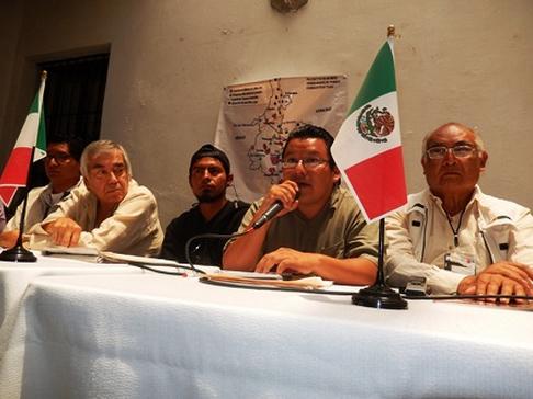 Anunciaron un frente común contra lo que calificaron una escalada de violencia y represiva del gobierno de Rafael Moreno Valle Rosas en Puebla. Foto: Radio Expresión