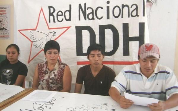 Crean Comité Popular en Defensa de los Derechos Humanos. Foto: Amalia Avendaño