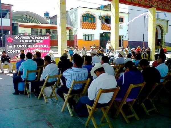 Laklumal Ixim denunció que los gobiernos de Enrique Peña Nieto y Manuel Velasco Coello, mantienen en el olvido a las comunidades y pueblos de la región norte-selva. Foto: Cortesía